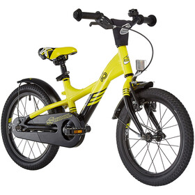 s'cool XXlite 16 Alliage Enfant, yellow/black matt
